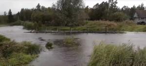 Мост уплыл